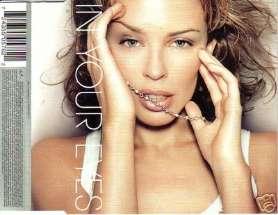 kylie minogue in your eyes single