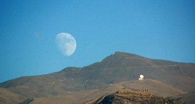 luna horizonte tamaño