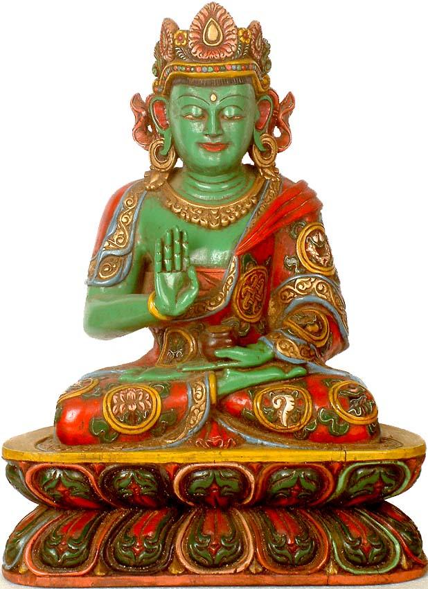 mudras zen abhaya