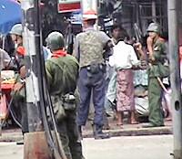 myanmar militar