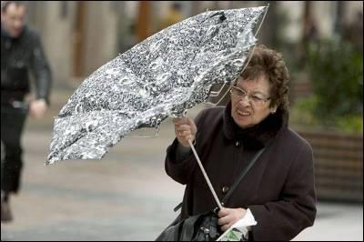 paraguas señora
