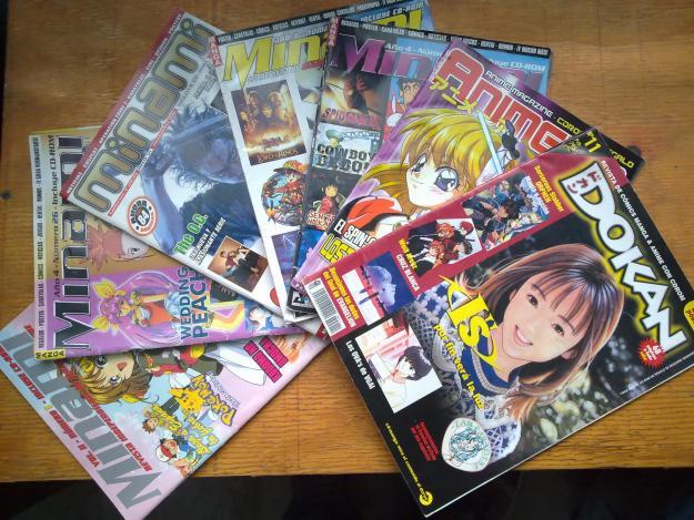 revistas anime