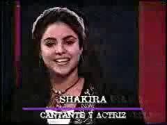 shakira 1994 entrevista