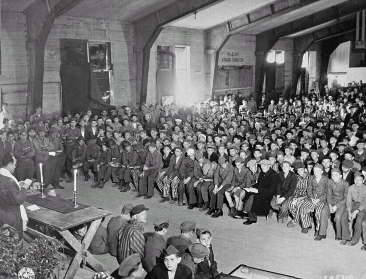 Buchenwald 1945 campo concentracion