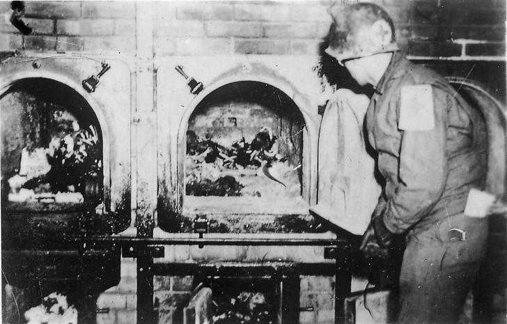 Buchenwald hornos muertos