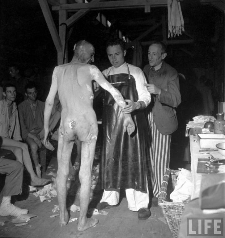 Buchenwald presos moribundos