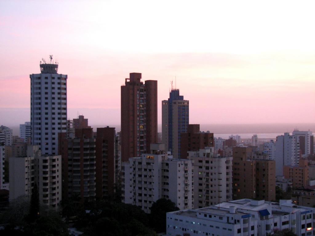 amanecer ciudad