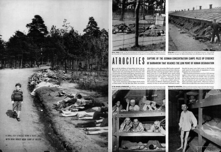 atrocidades nazis segunda guerra mundial