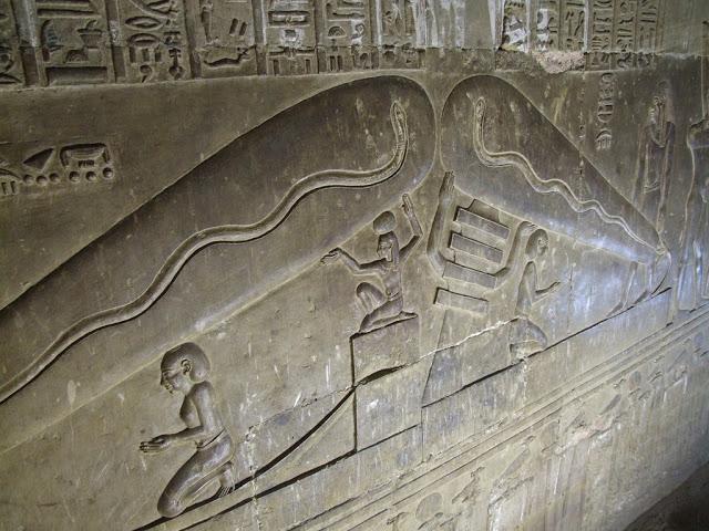 bombillas electricas egipto