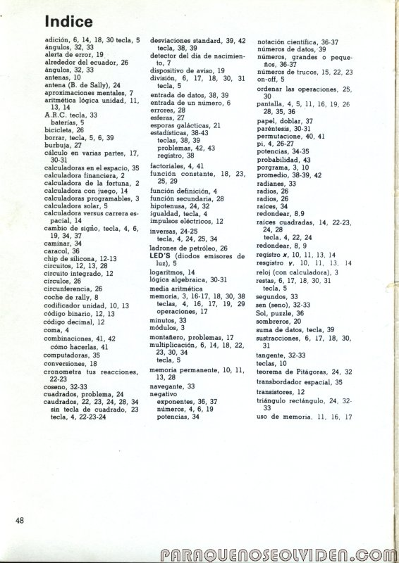 coleccion electronica calculadoras 48
