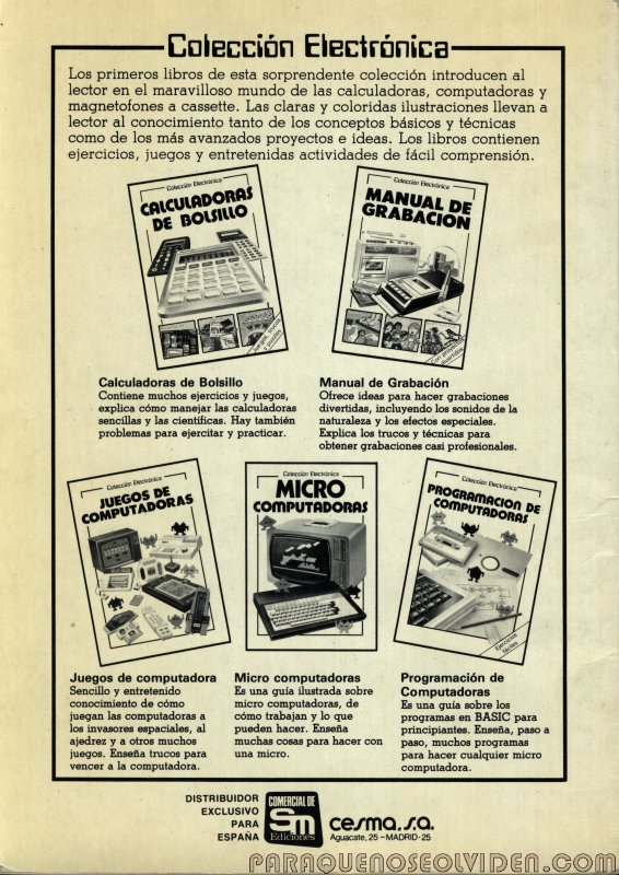 coleccion electronica calculadoras 49