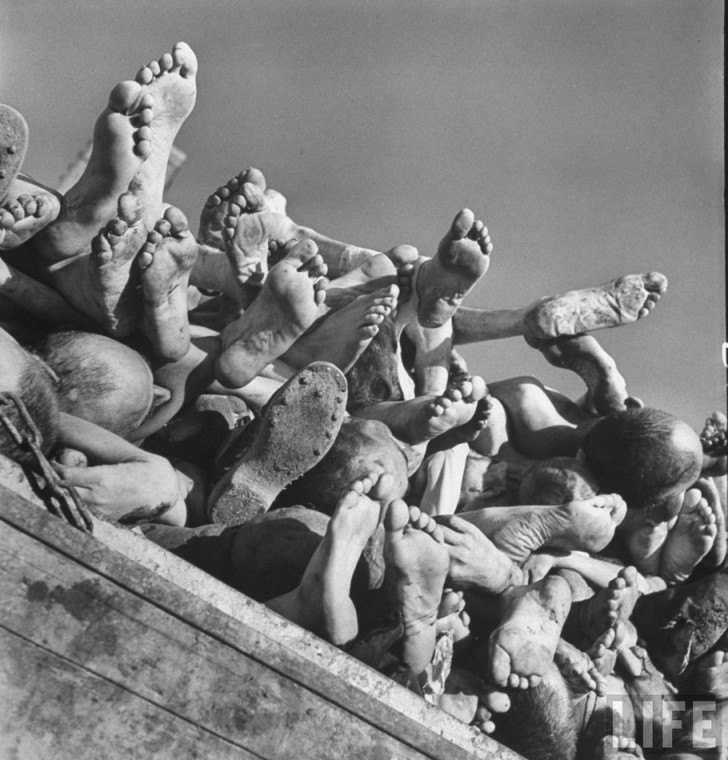 cuerpos muertos nazis segunda guerra mundial