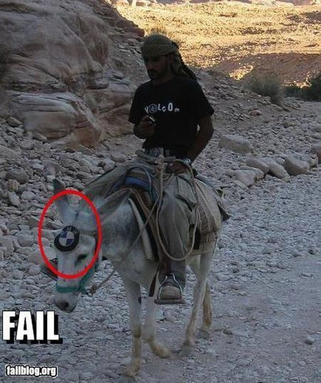 fail burro bmw