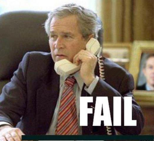 fail bush telefono