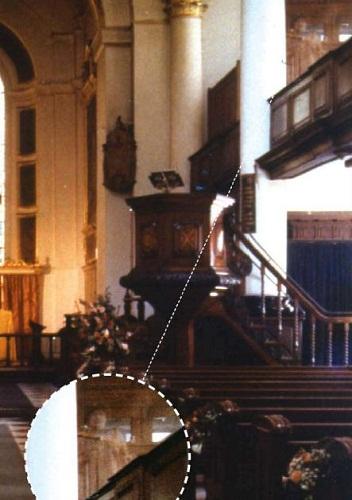 fantasma foto iglesia