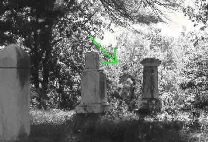 foto fantasma cementerio