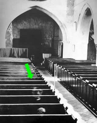 foto fantasma iglesia