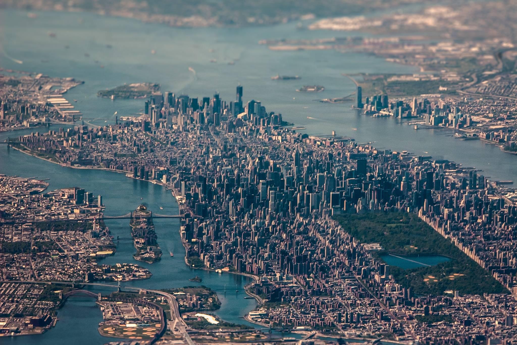 foto vista aerea nueva york