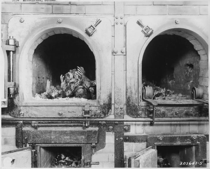 hornos cadaveres nazis