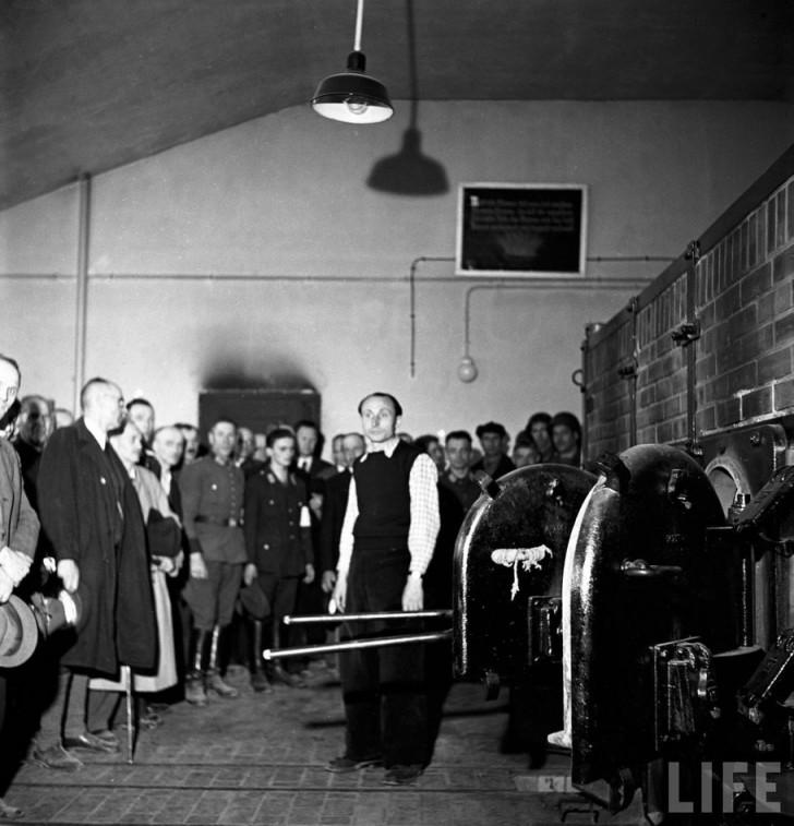 hornos crematorios nazis