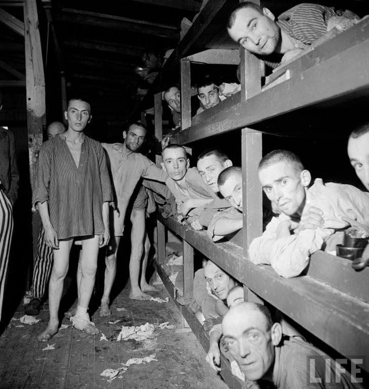 internos Buchenwald segunda guerra mundial