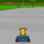 Juego en la carrera de coches