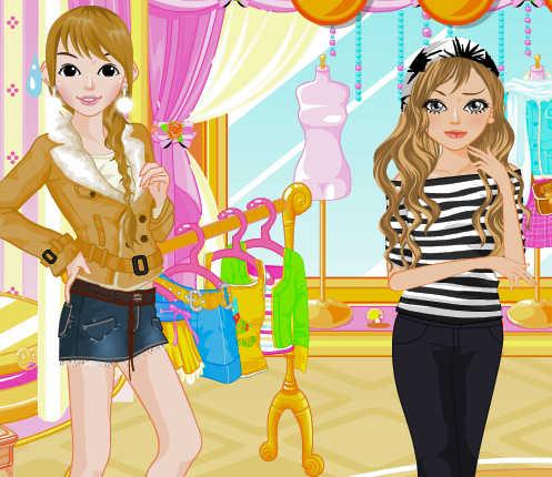 juego de comprar ropa y maquillaje para chicas