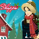 Juego de comprar en la tienda de invierno