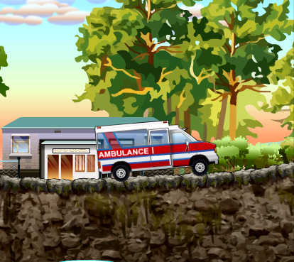 juego-conducir-ambulancia-hospital