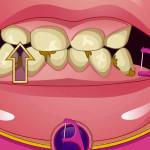 Juego en la consulta del dentista