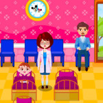 Juego en el hospital infantil