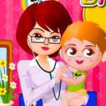 Juego con la medica infantil