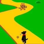 Juego de perros contra gatos