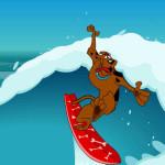 Juego de surf board con Scooby