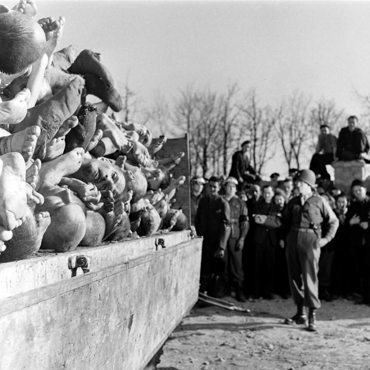 liberacion buchenwald muertos alemania