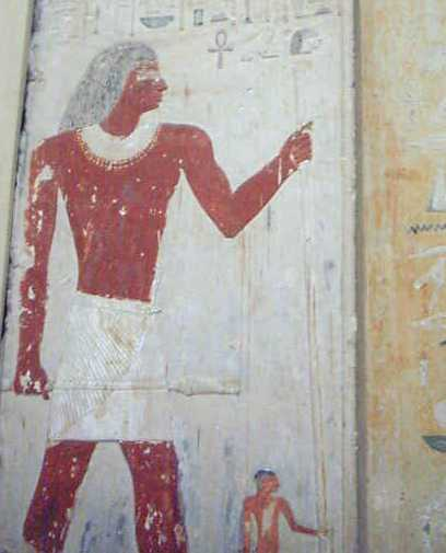 pintura pasillos egipto