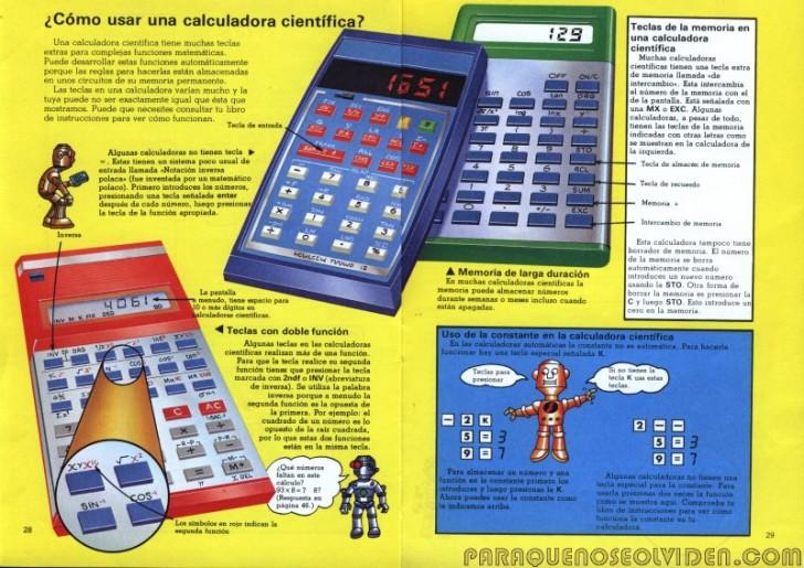 plesa calculadoras 28-29
