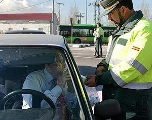 policia control alcoholemia