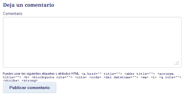 puedes usar las siguientes etiquetas y atributos html