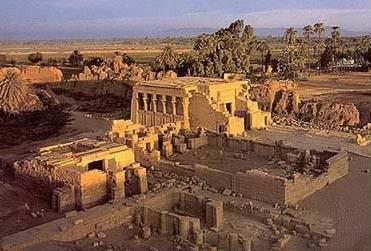 santuario hathor egipto