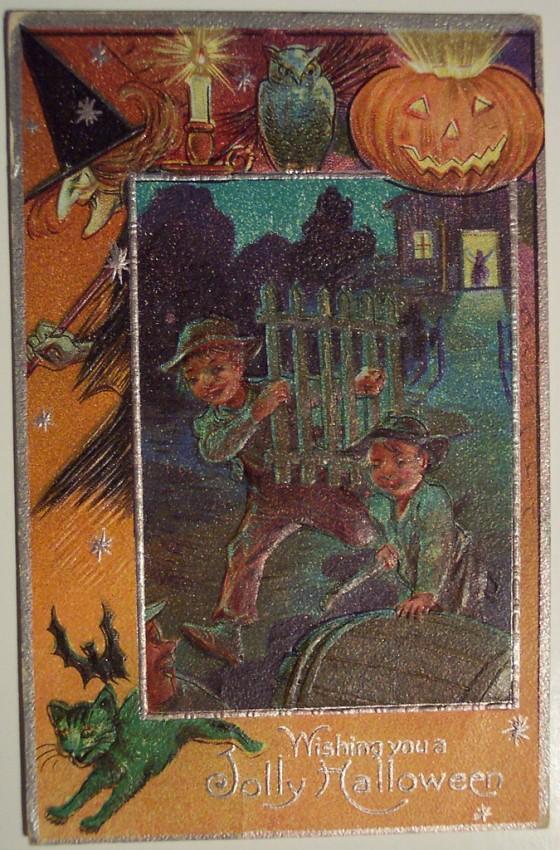 Ilustracion Halloween antigua 003