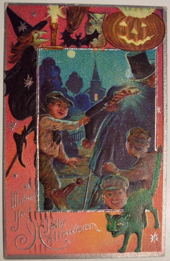 Ilustracion Halloween antigua 004