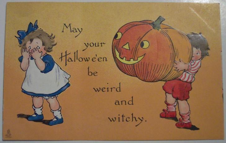 Ilustracion Halloween antigua 006