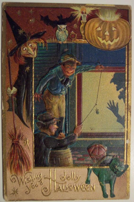 Ilustracion Halloween antigua 008