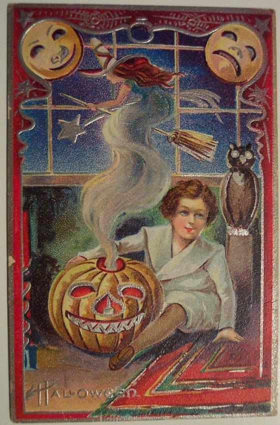 Ilustracion Halloween antigua 010