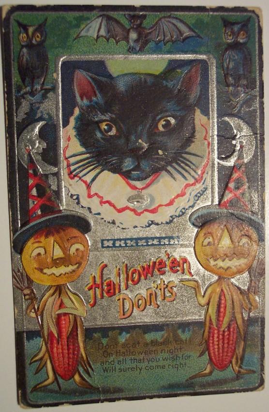Ilustracion Halloween antigua 011