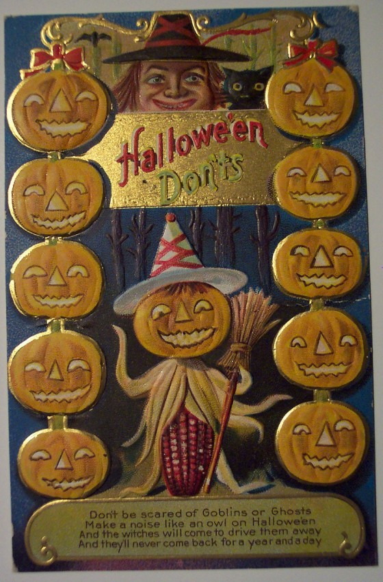 Ilustracion Halloween antigua 012