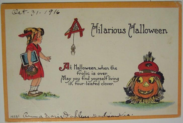 Ilustracion Halloween antigua 018