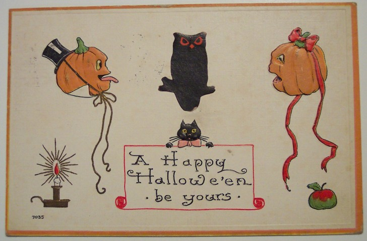 Ilustracion Halloween antigua 019