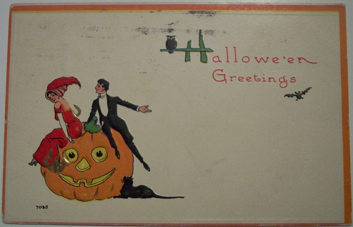 Ilustracion Halloween antigua 020